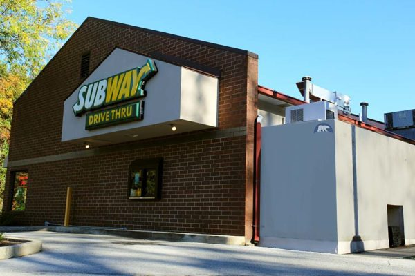 Custom Subway Restaurant Walk-In Refrigerator