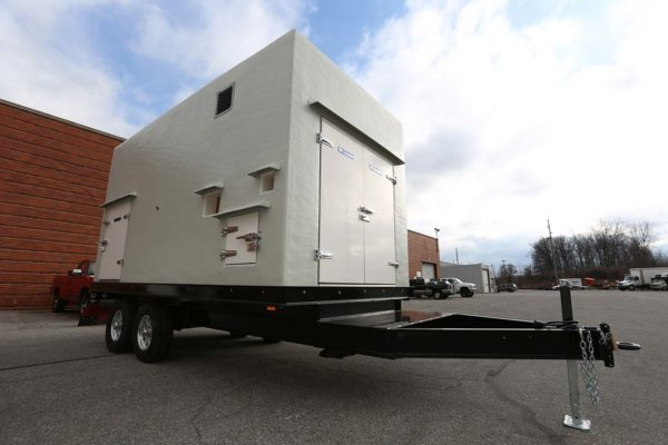 Polar King refrigerated trailer outside