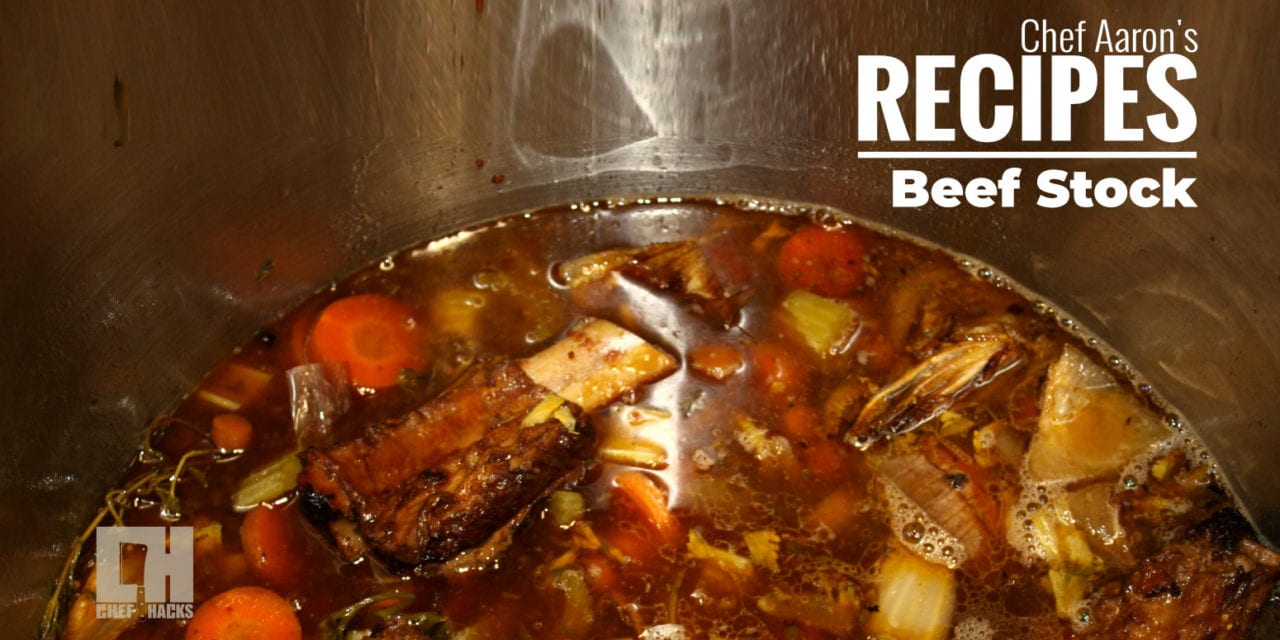 How to make Beef stock with a Thermodyne
